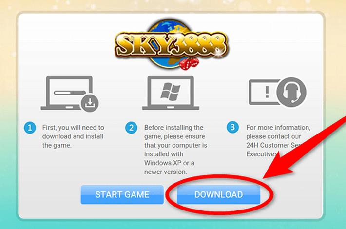 sky3888-dowload-tutorial