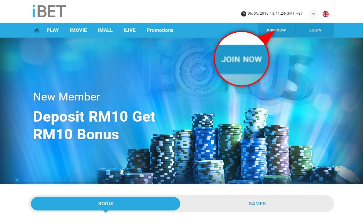 Just 4 Steps! It's So Easy to Register iBET Sky3888 Online Casino!