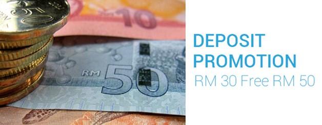 SKY3888 Seposit RM30 Free RM50