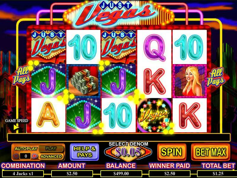Just Vegas Free Slots – Play for Free Online & Win for Real