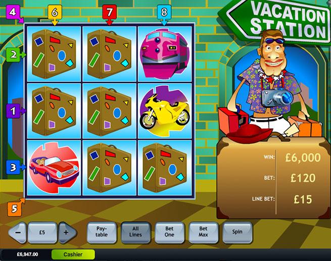Vacation Slot Games