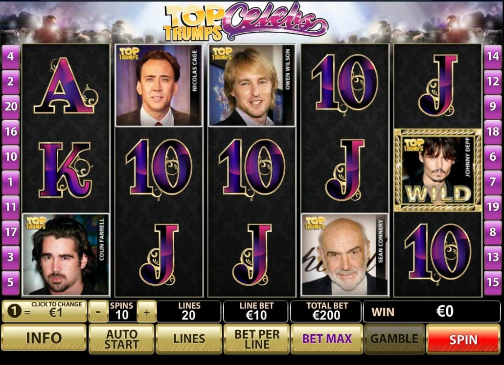 Play Top Trumps Celeb Scratch Cards at Casino.com