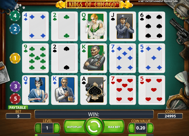 best us online casino king of cards