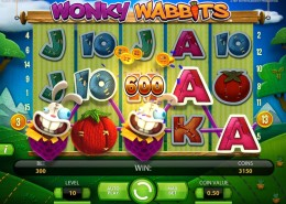 m.sky3888 Wonky Wabbits Slot in Crazy Vegetable Garden