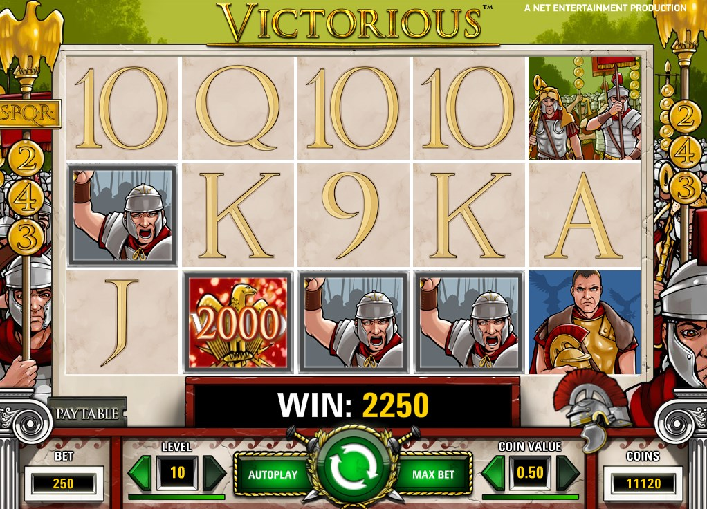 m.sky3888 Online Slot Game Victorious Back to Caesar's